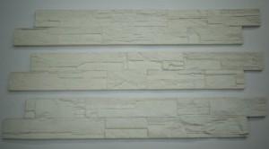 """Revêtement CÉLESTINE couleur """"Céleste"""" imitation pierres fabriqué avec DÉCO LOGIQUE papier recyclé à 100%."""