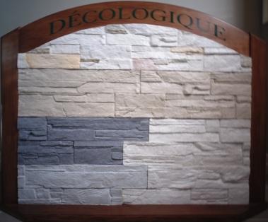 Revêtement CÉLESTINE fabriqué avec DÉCO LOGIQUE (5 COULEURS DE BASE).