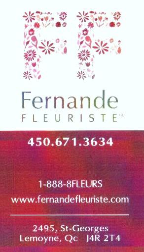 DÉCO LOGIQUE (papier 100% recyclé) .Détaillant de pièces UNIQUE chez FERNANDE fleuriste ville Lemoyne(Longueuil) tel: (450) 671-3634.