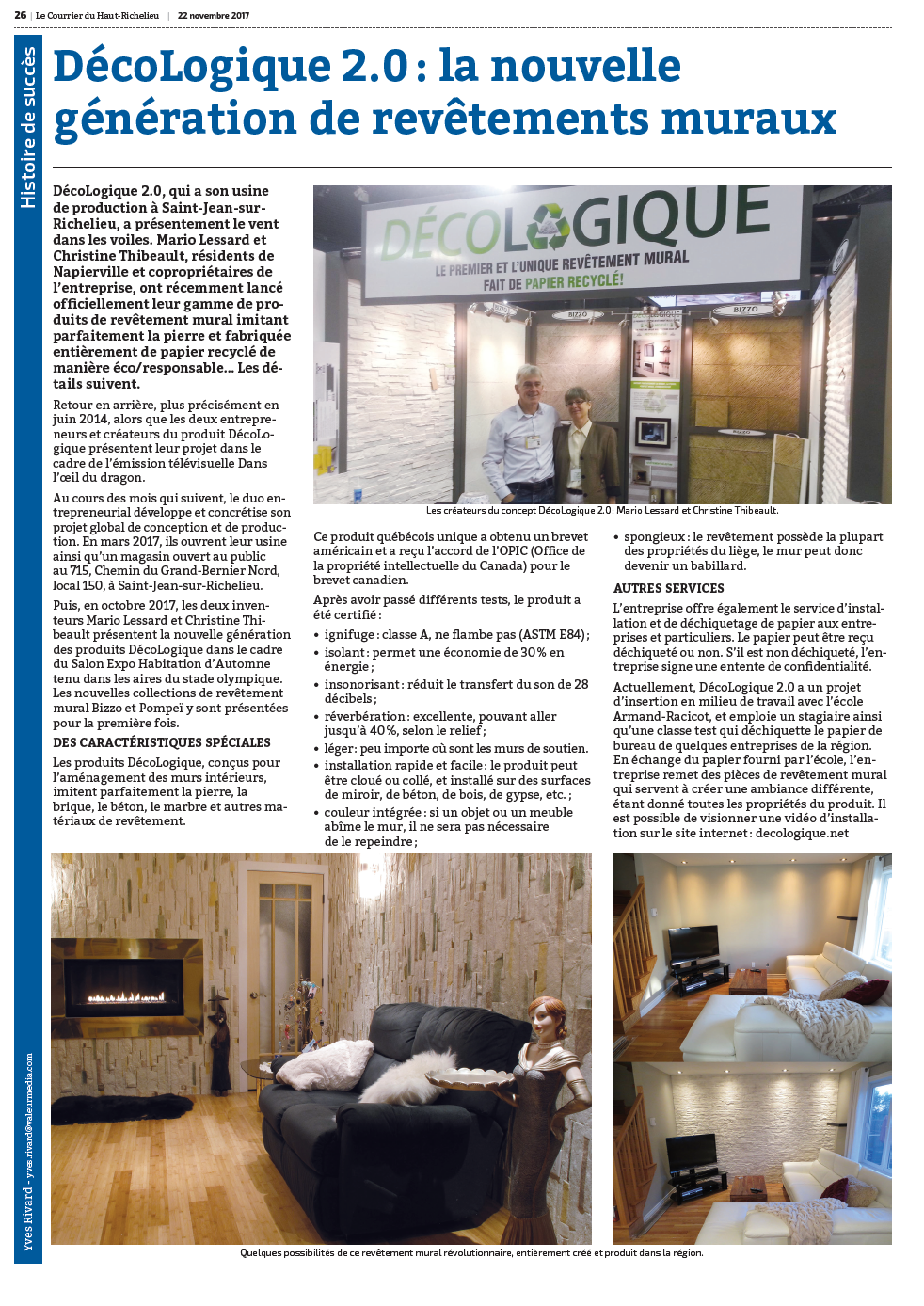 Journal LE COURRIER page 26 DECOLOGIQUE 2.0 Inc..png
