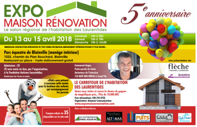 Expo Habitation Salon National de l'habitation des Laurentides