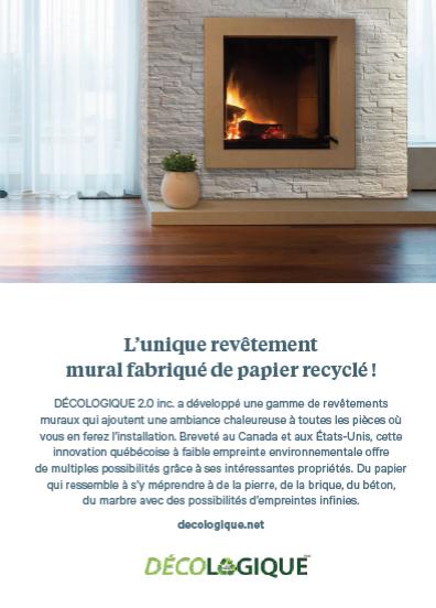 Publicité DECOLOGIQUE Magazine Forme